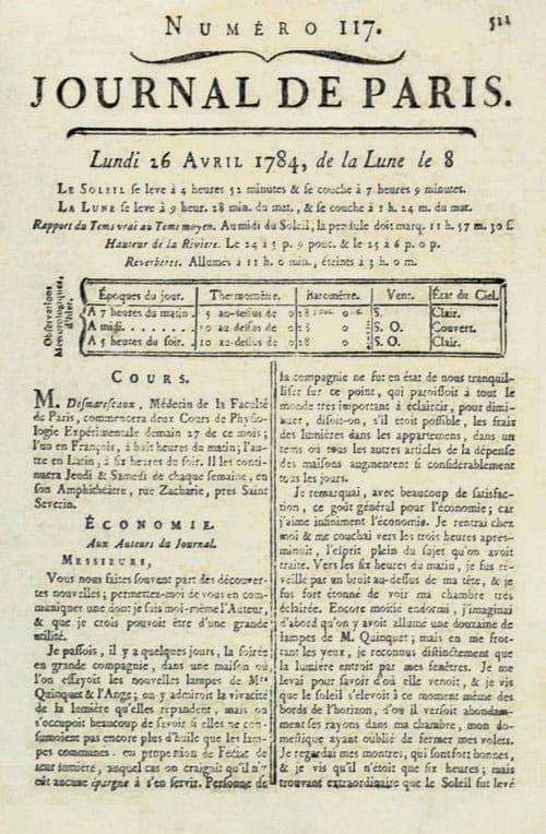journal-de-paris-changement-heure-epeda - Epéda